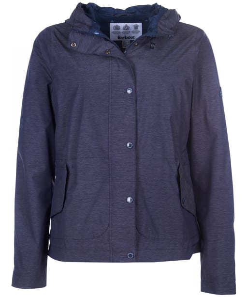 Women's Barbour Sooty Waterproof Jacket - Navy Marl
