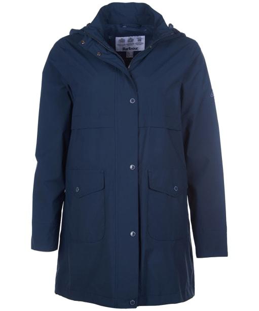 Women's Barbour Laysan Waterproof Jacket - Navy