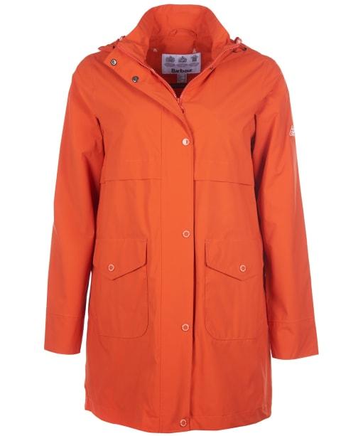 Women's Barbour Laysan Waterproof Jacket - DARK SUNSTONE