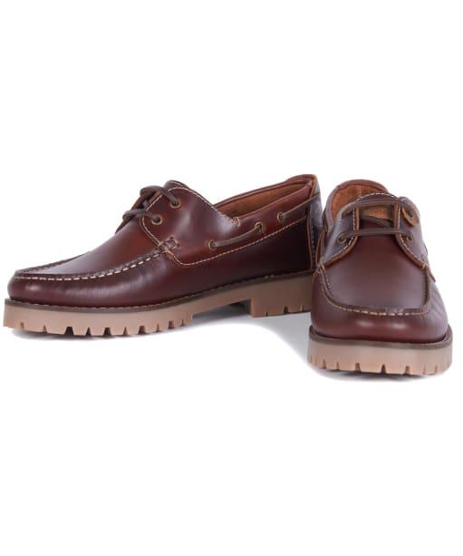 Stern Shoe - Mahogany Leather