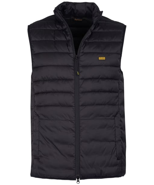 Men's Barbour International Burn Gilet - Black
