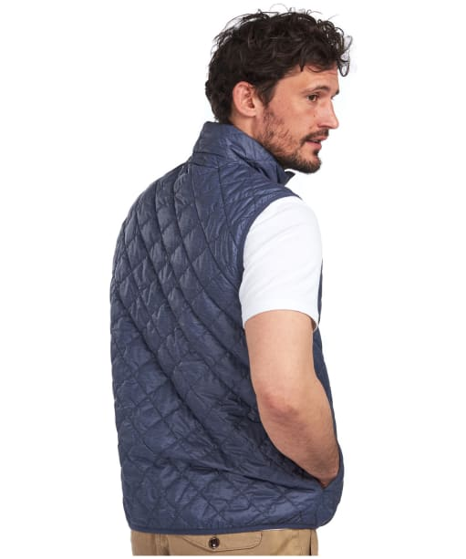 Men's Barbour Centro Lightweight Quilted Gilet - Navy