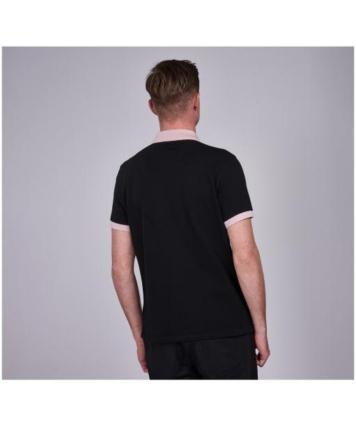 Men's Barbour International System Polo Shirt - Black