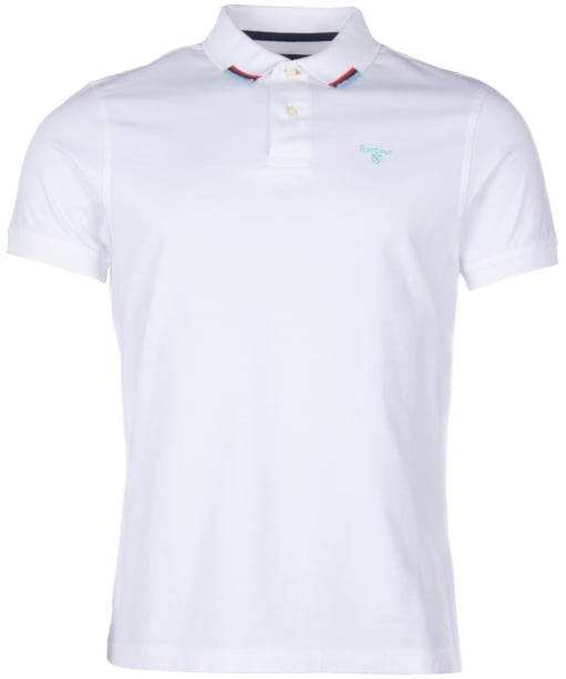 Men's Barbour Ample Polo Shirt - White