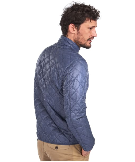 Men's Barbour Ancro Lightweight Quilted Jacket - Navy