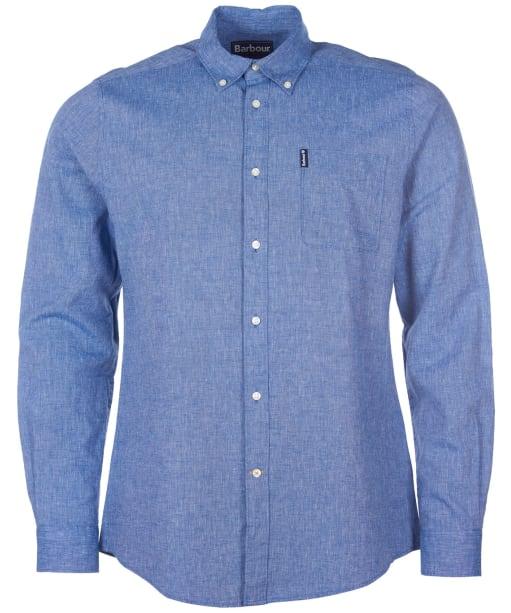 Men's Barbour Seaton Shirt - Indigo
