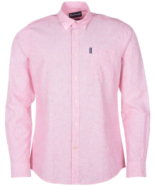 Men's Barbour Seaton Shirt - Red