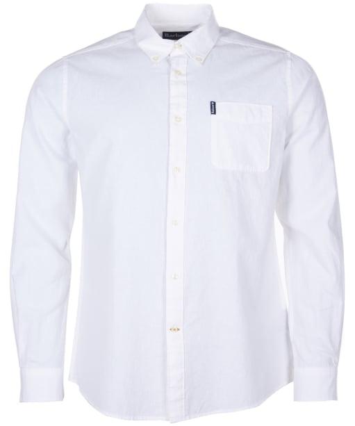 Men's Barbour Seaton Shirt - White