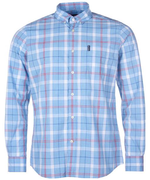 Men's Barbour Cove Shirt - Sky Check