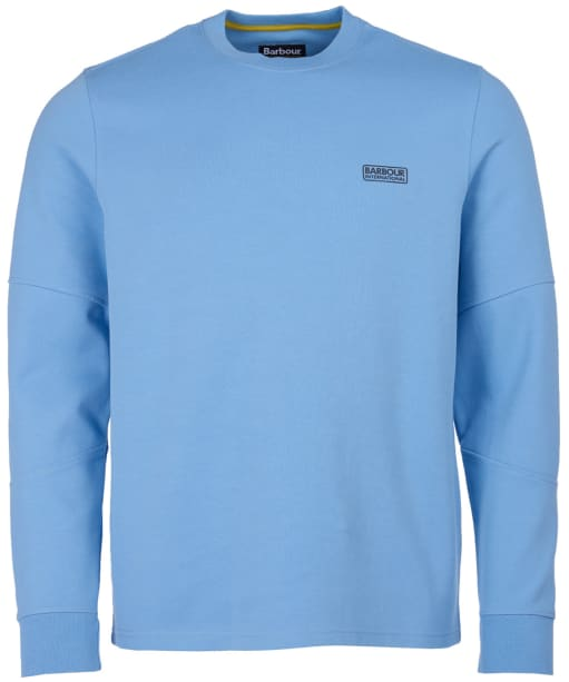 Men's Barbour International Decal L/S Tee - Cool Blue