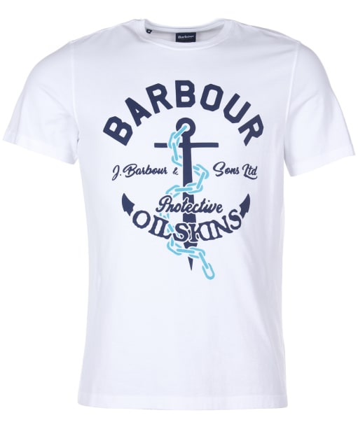Men's Barbour Harbour Tee - White
