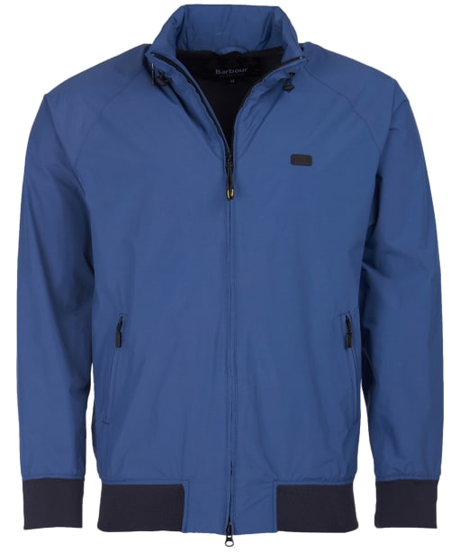 Men's Barbour Illford Waterproof Jacket - Blue Metal