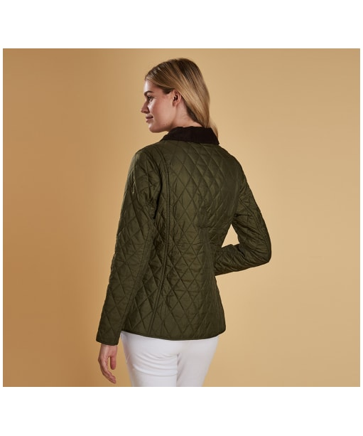 Women's Barbour Annandale Quilted Jacket - Olive