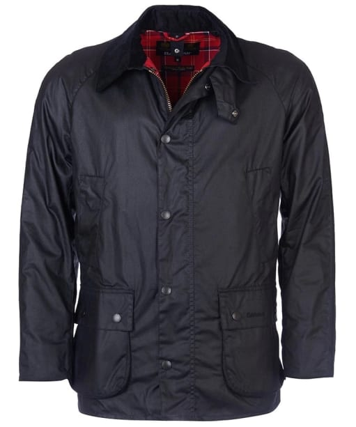 Men's Barbour Ashby Waxed Jacket - Black