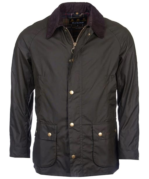 Men's Barbour Ashby Waxed Jacket - Olive