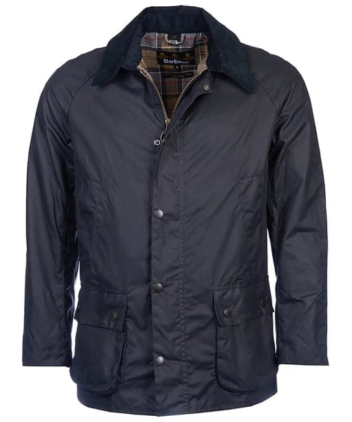 Men's Barbour Ashby Waxed Jacket - Navy
