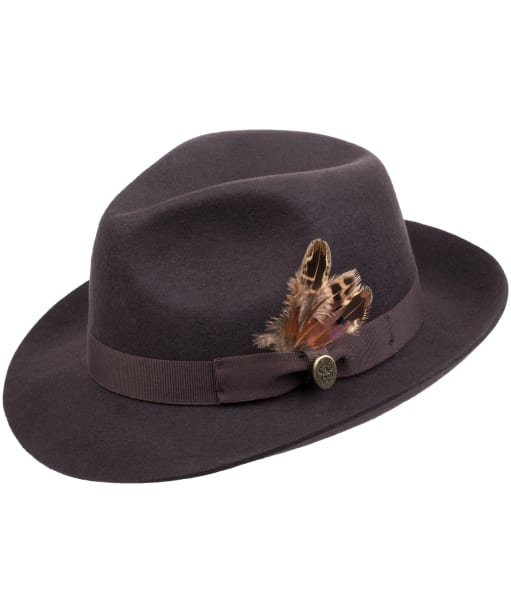 Women's Hicks & Brown The Thurlow Trilby – Pheasant Feather - Brown