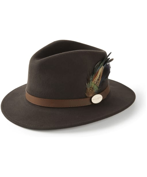Women's Hicks & Brown The Suffolk Fedora - Brown