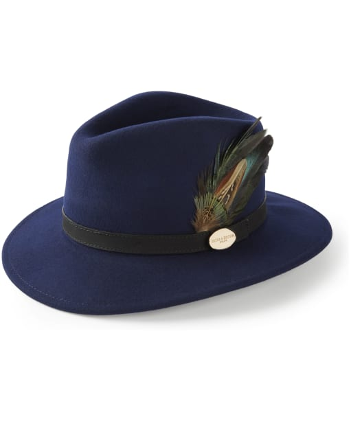 Women's Hicks & Brown The Suffolk Fedora - Navy