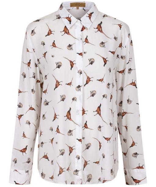 Women's Dubarry Briarrose Printed Shirt - Cream Multi Pattern