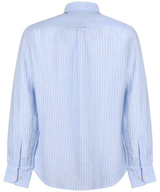 Men's Schoffel Thornham Shirt - Light Blue Stripe