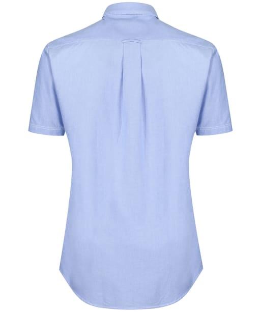 Men's Musto Aiden Short Sleeve Oxford Shirt - Pale Blue