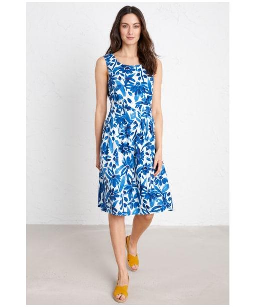 Women's Seasalt Seamstress Dress - Watercolour Floral Cargo