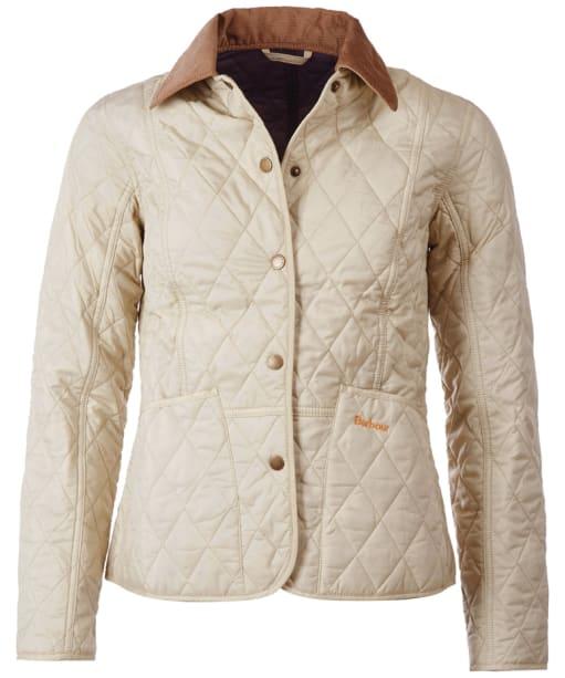 Barbour Ladies Summer Liddesdale Jacket - Pearl | Navy