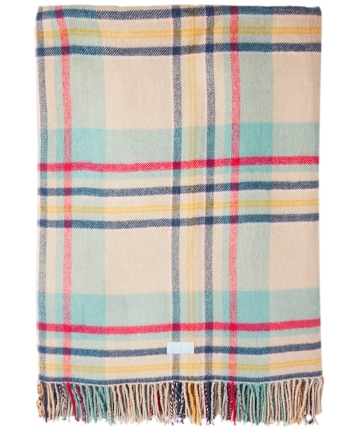 Joules Checked Picnic Blanket - Creme Check