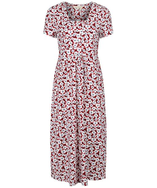 Women's Seasalt S/S Seed Packet Dress - Mallow Flower Rudder