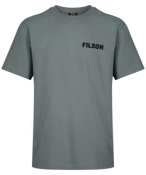 Men's Filson S/S Outfitter Graphic T-shirt - Sage / Grey