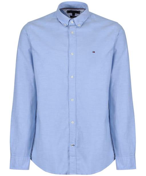 Men's Tommy Hilfiger Slim Fit Oxford Shirt - Shirt Blue