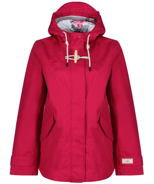 Women's Joules Coast Waterproof Jacket - Berry