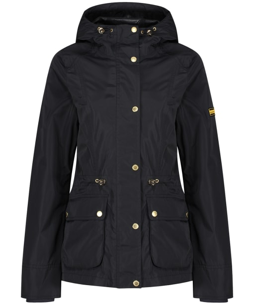 Women's Barbour International Biltwell Waterproof Jacket - Black