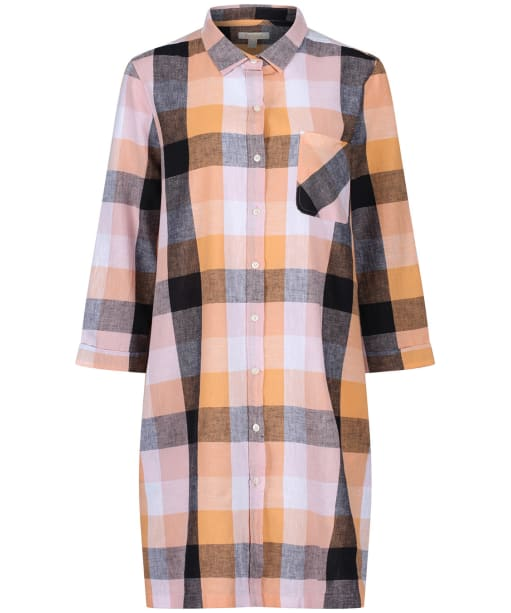 Women's Barbour Seaglow Dress - Blue/Sunshine Orange