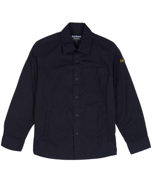 Boy's Barbour International Tech Overshirt - Black