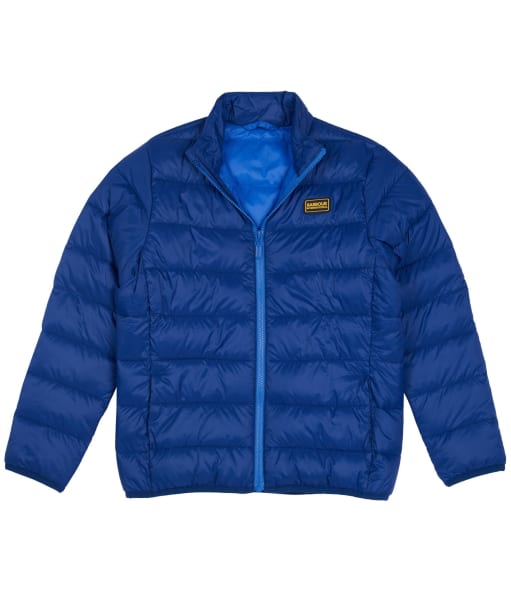Boy's Barbour International Reed Quilted Jacket, 10-15yrs - Inky Blue