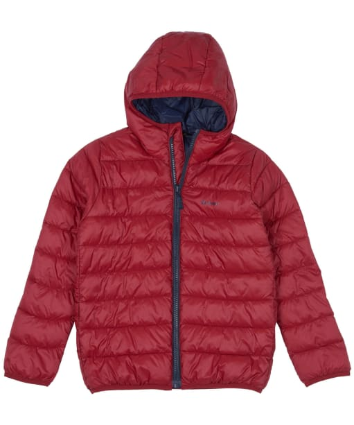Boy's Barbour Trawl Quilted Jacket, 6-9yrs - Crimson