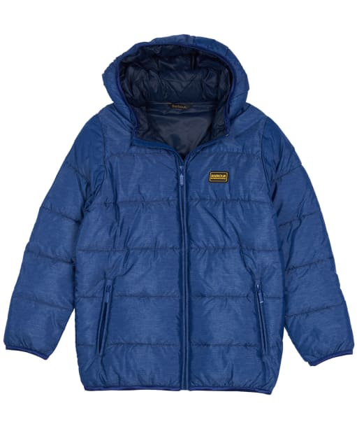 Boy's Barbour International Court Quilted Jacket - Inky Blue