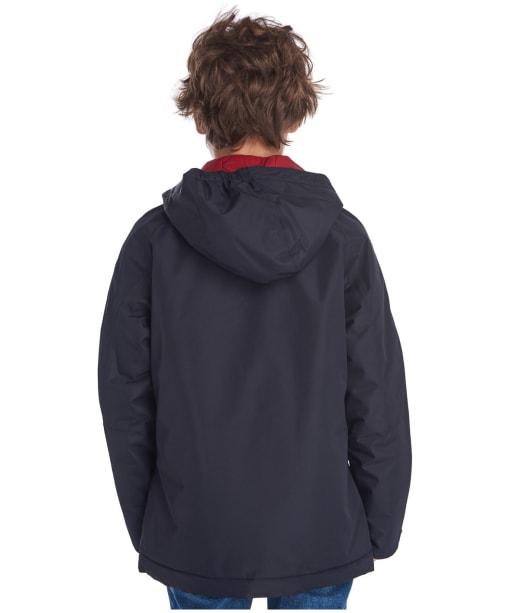 Boy's Barbour Deptford Waterproof Jacket, 6-9yrs - Navy