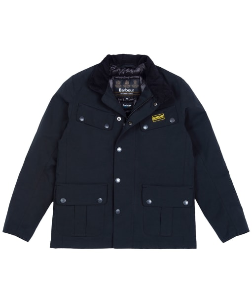 Boy's Barbour International Duke Waterproof Jacket - Black