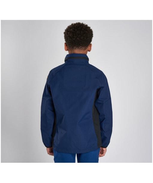 Boy's Barbour International Mayfield Waterproof Jacket - Regal Blue