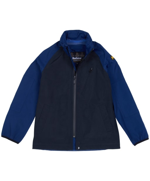 Boy's Barbour International Mayfield Waterproof Jacket - Regal Blue