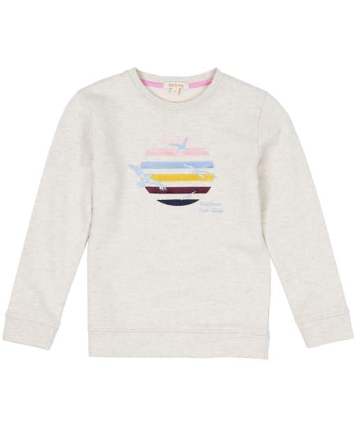 Girl's Barbour Tern Overlayer, 10-15yrs - Cloud Marl