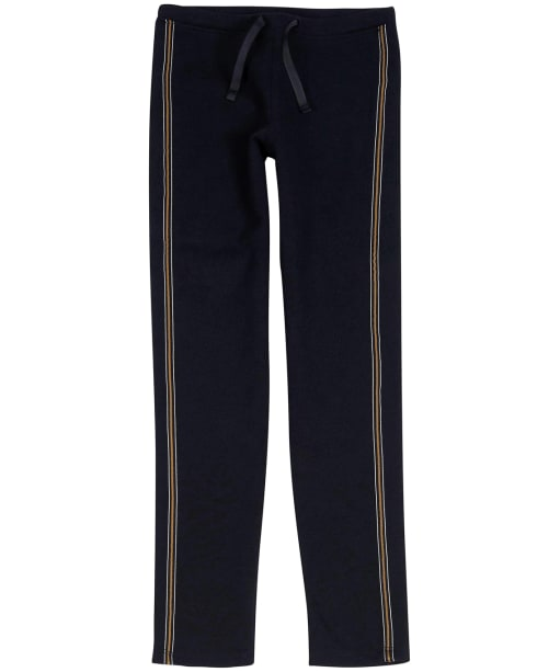 Girl's Barbour International Track Pants, 6-9yrs - Black / Gold