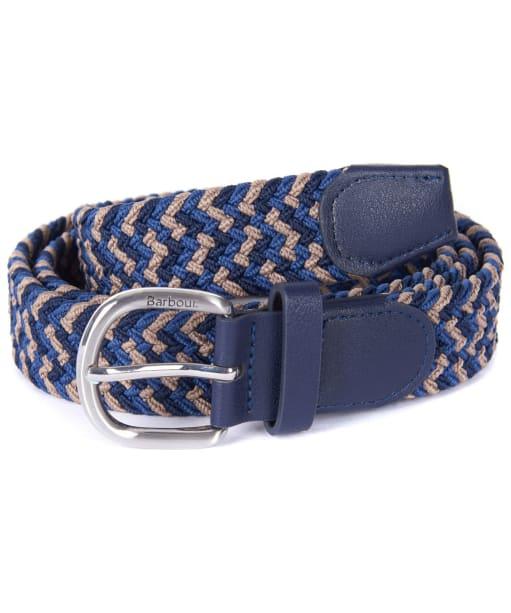 Women's Barbour Woven Belt - Navy / Blue / Trench