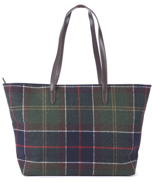 Women's Barbour Witford Tartan Tote Bag - Classic Tartan