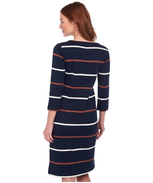 Women's Barbour Oyster Dress - Navy