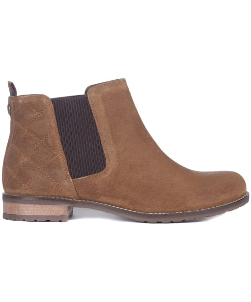 Abigail Chelsea Boot - Brown Suede