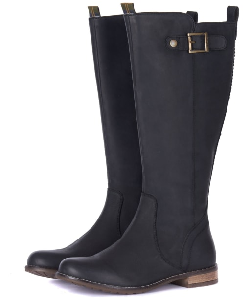Women's Barbour Rebecca Boots - Black 2